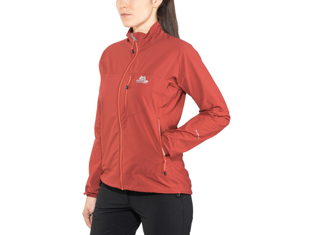 Mountain Equipment Echo Chaqueta Mujer, sangria